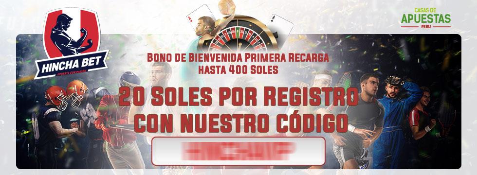 Código Promocional Hincha Bet Perú